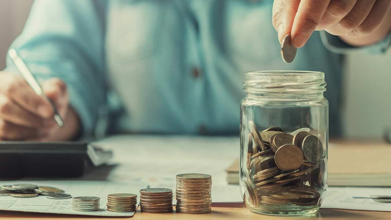 Saving up and budgeting money