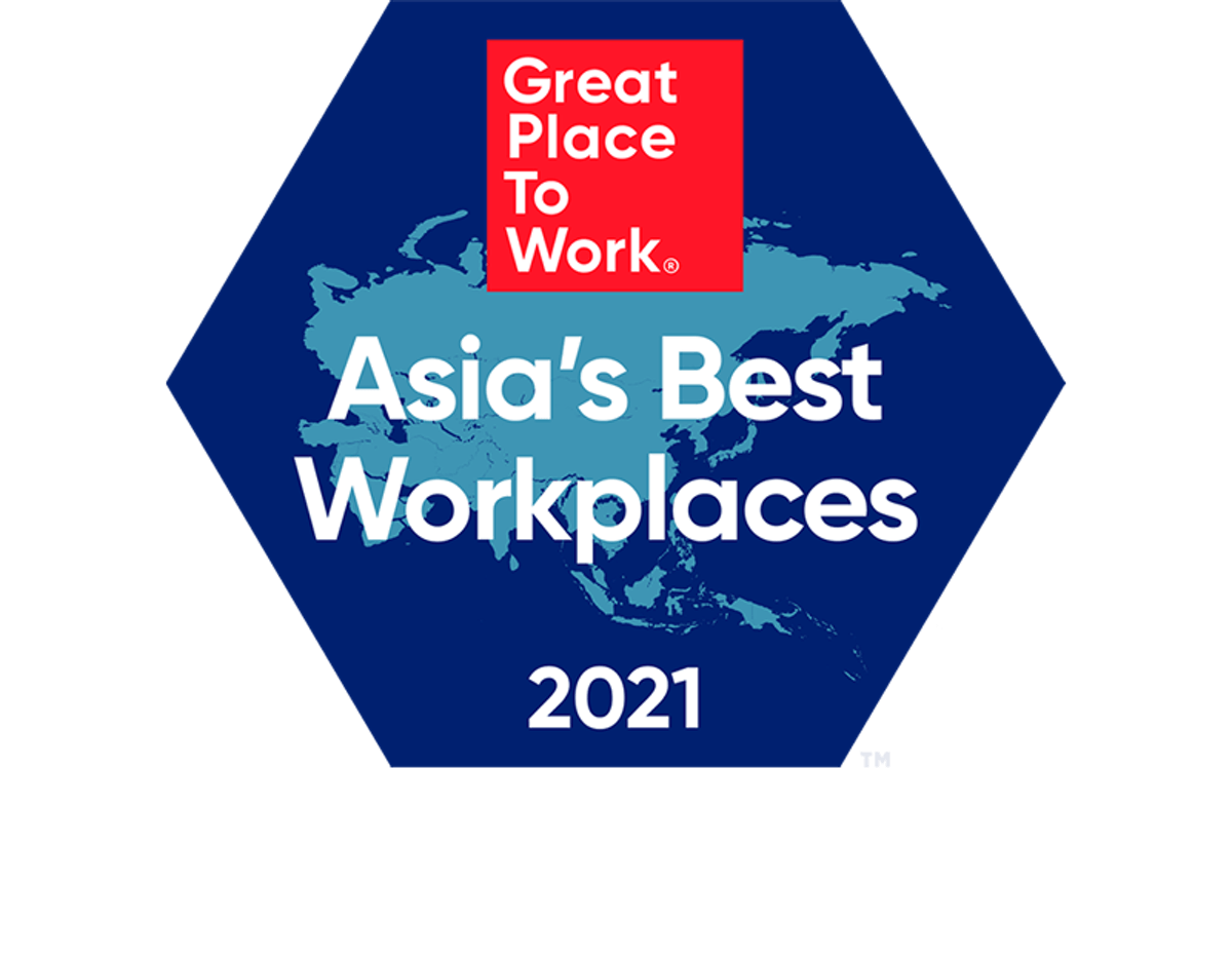 Asia's Best Workplace ranked 66th
