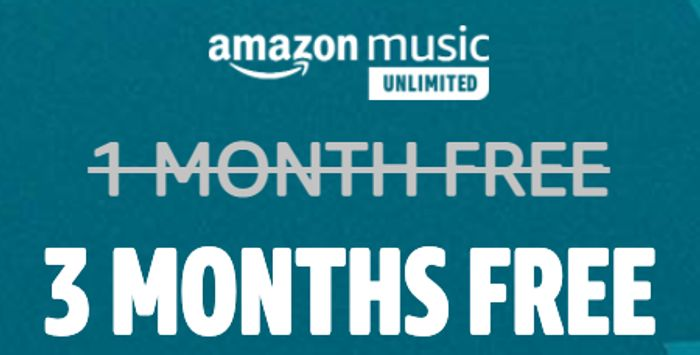 Amazon music unlimited Cyber Monday deal