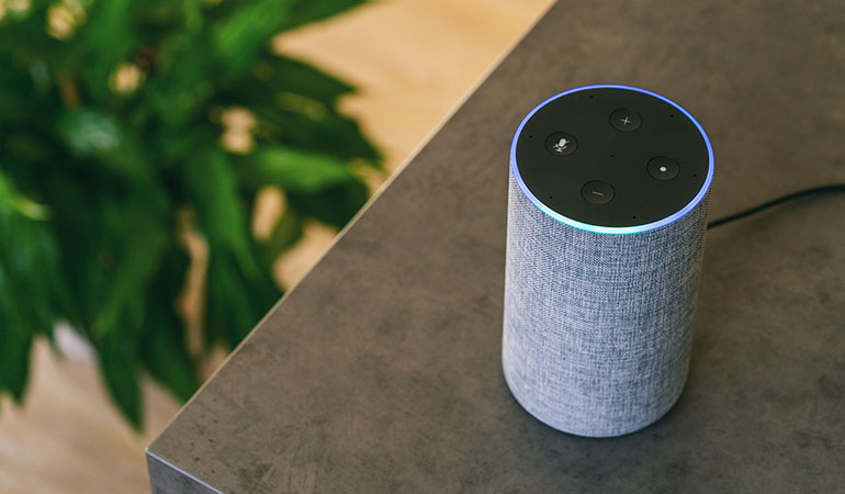 smart speakers and virtual assistants in a smart home