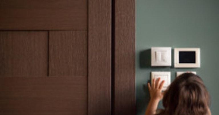 Child adjusts electricity meter