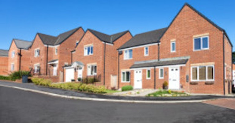 Row of houses using the Tariff Comparison Rate