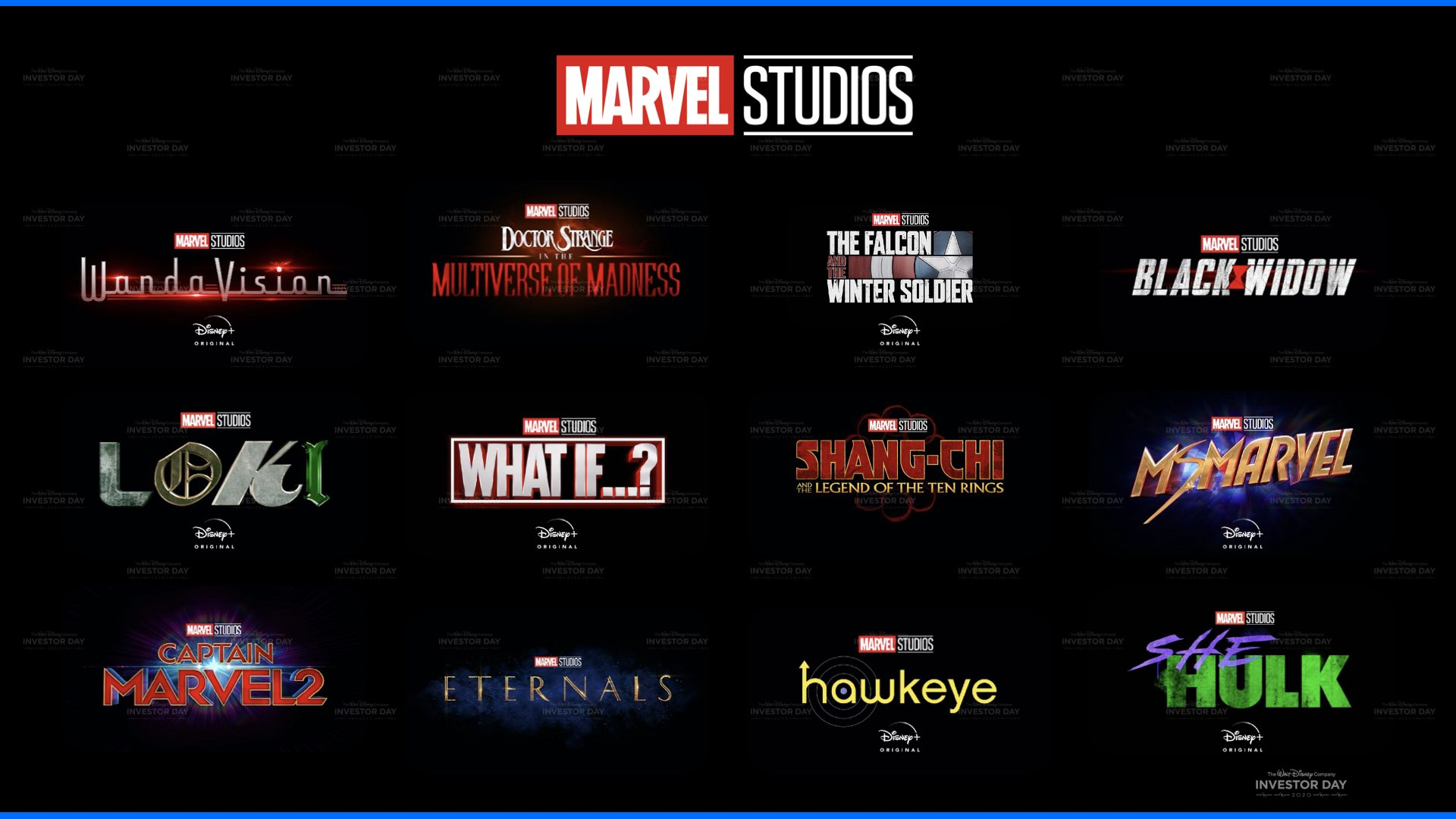 Brand new Marvel shows announced for Disney Plus