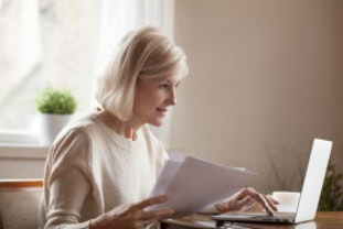 Woman suspecting energy supplier has overcharged her