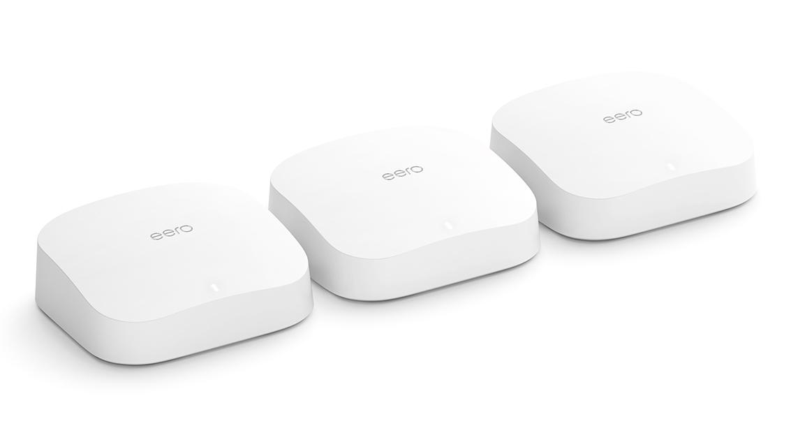 amazon eero pro 6 triple pack wifi mesh router