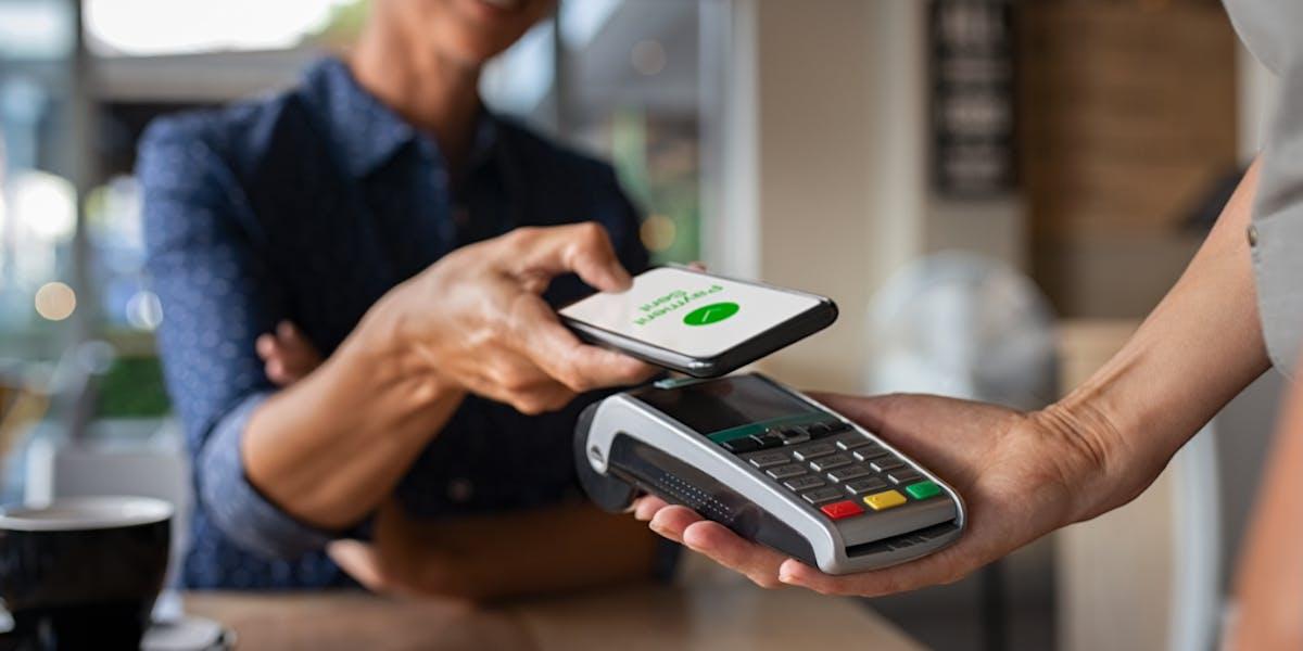 Phone and card machine