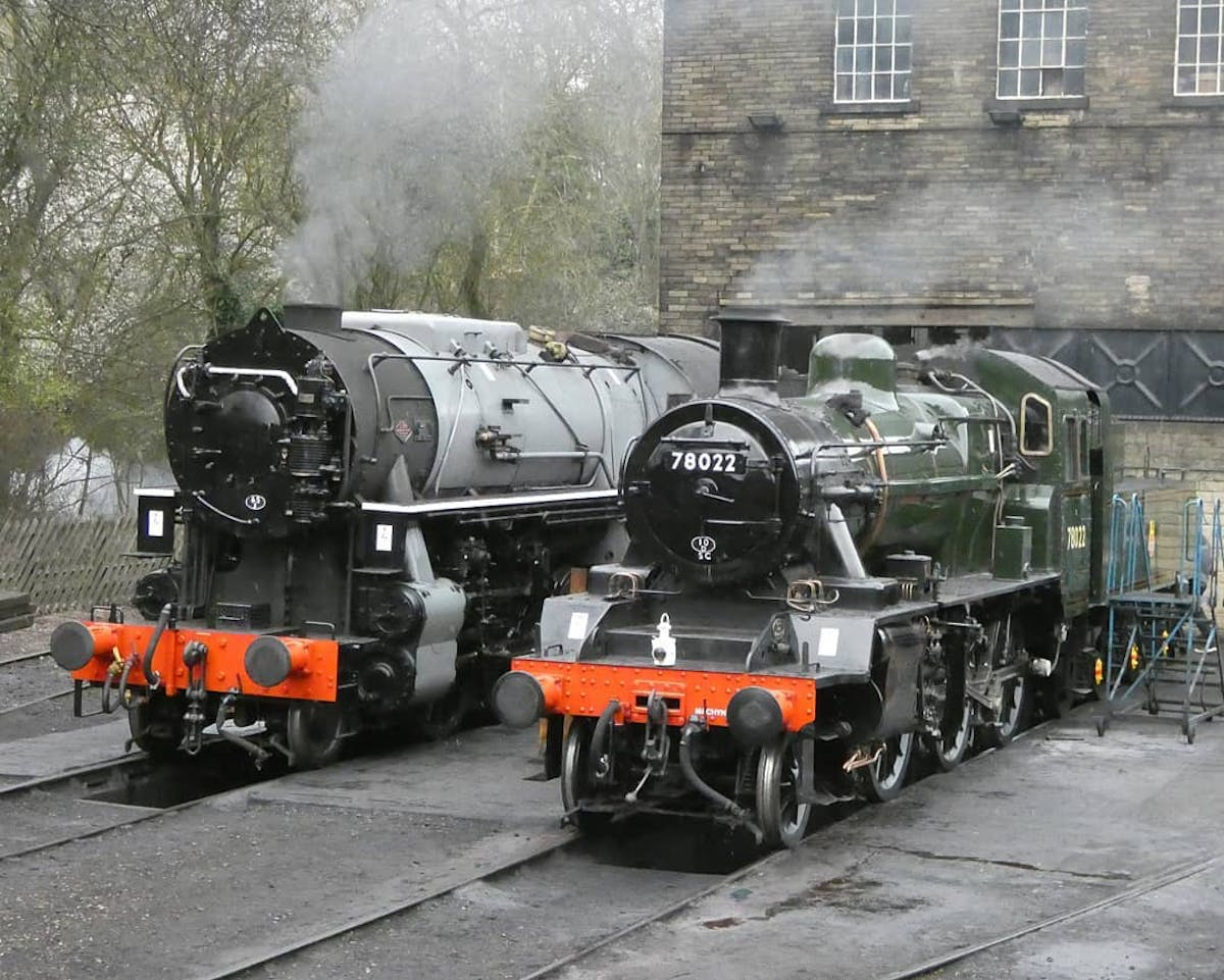 Train in Yorkshire.