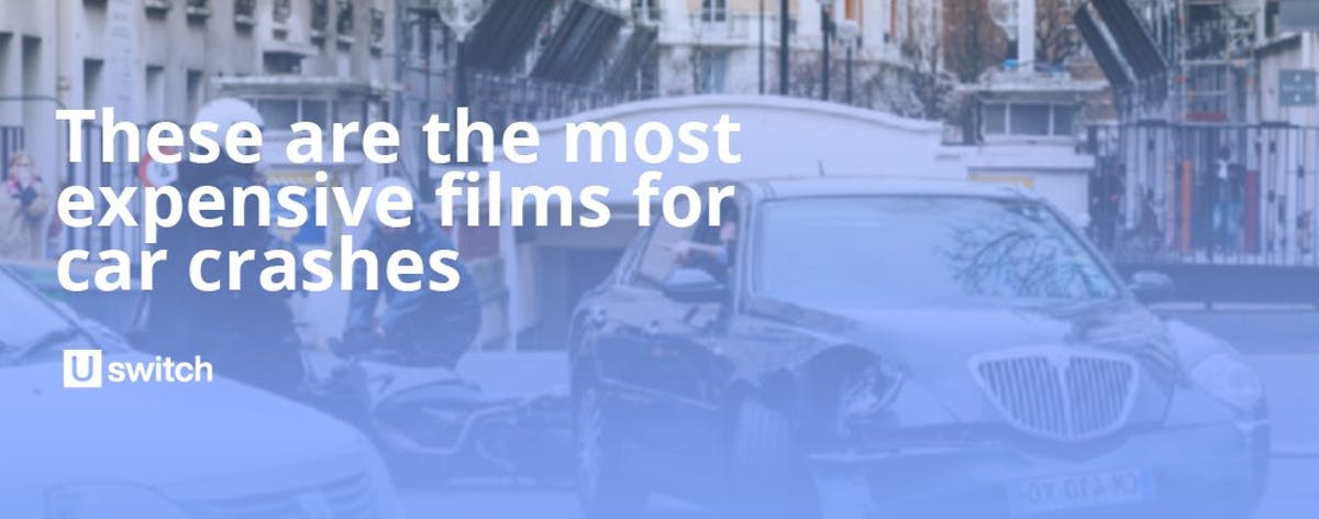 The most expensive films in car crashes.