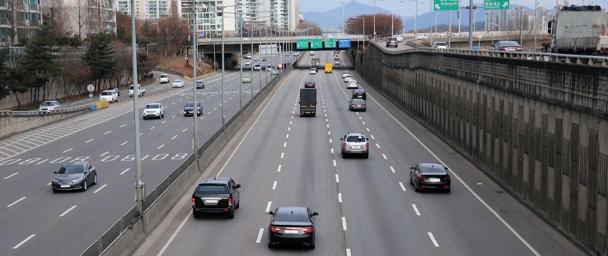 Motorway cars