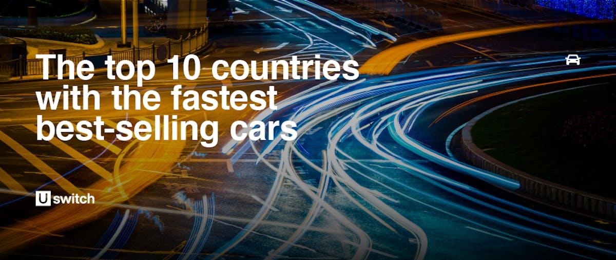 Fastest best-selling cars header