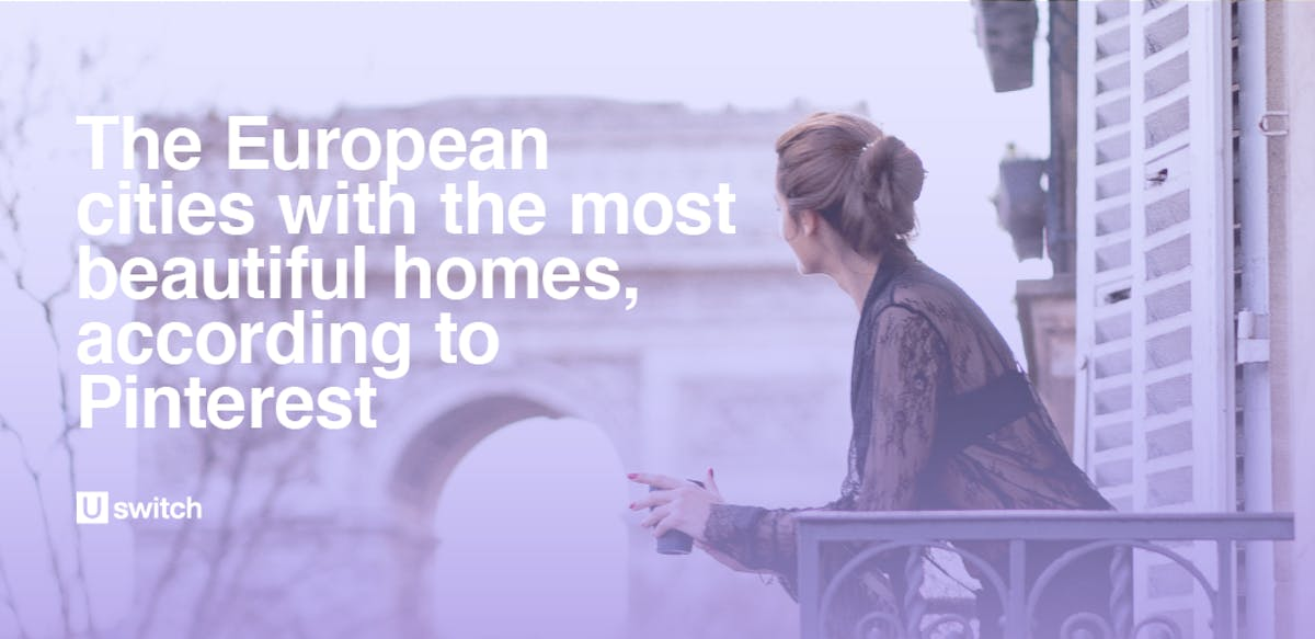 The European cities with the most beautiful homes, according to Pinterest feature image.