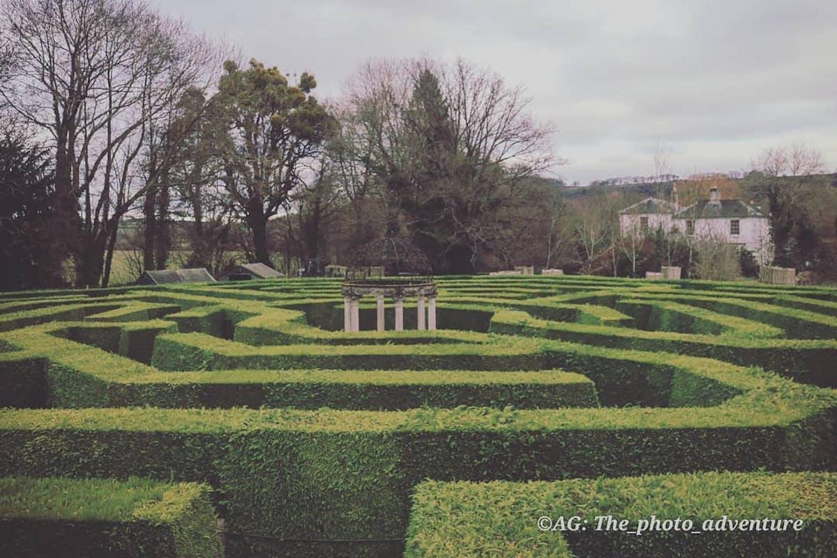 Maze in Gloucestershire.