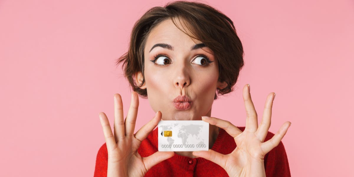 Instant decision credit cards - Quirky credit card image