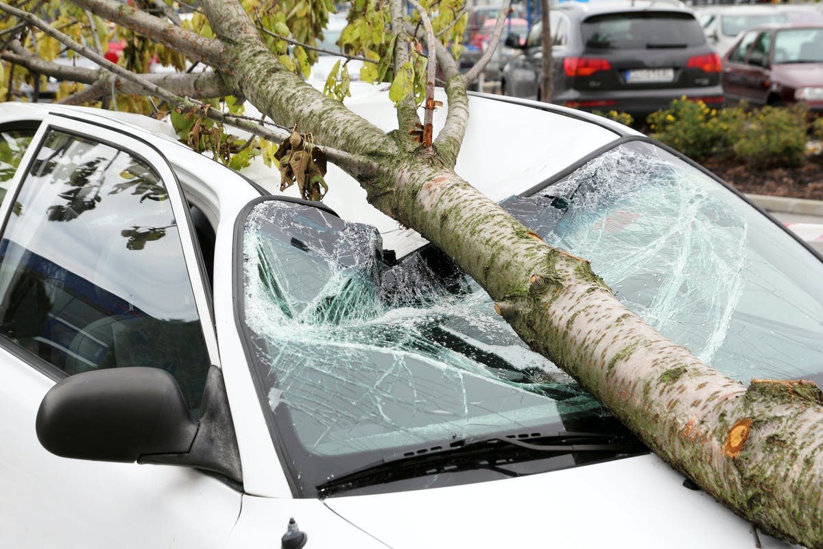 How to claim on your car insurance for storm damage