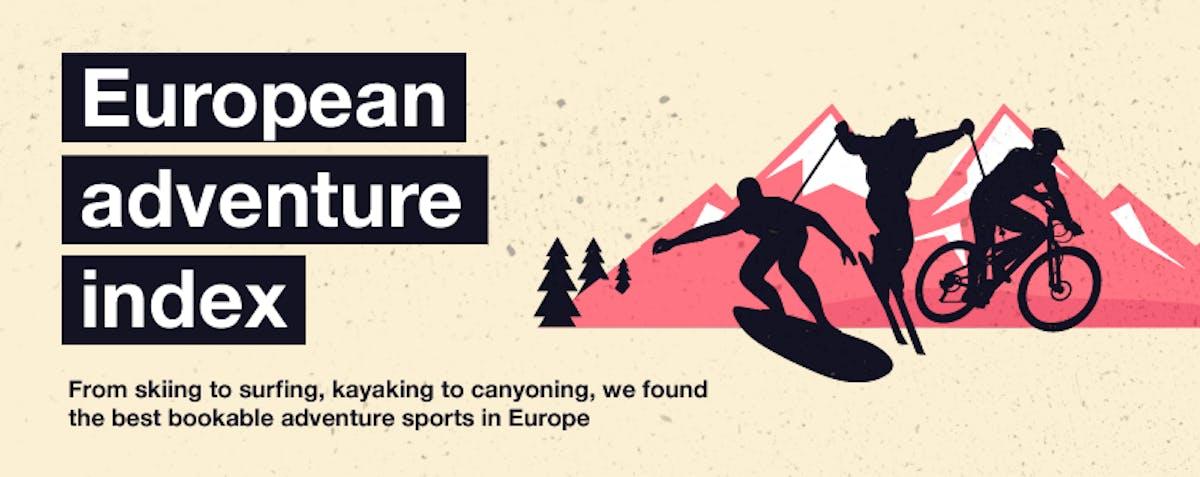 The European adventure destination index header