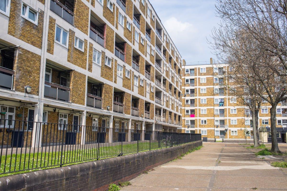 rented housing block