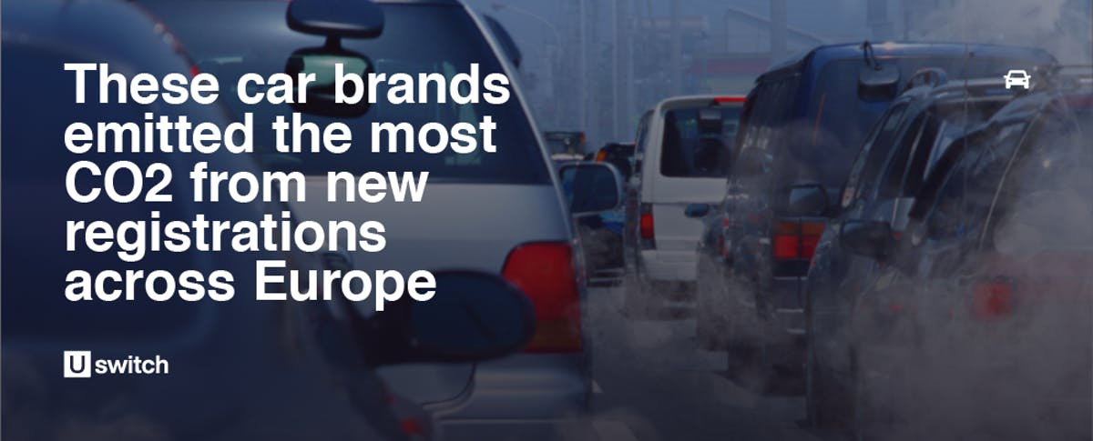 Feature image for car brands emitting the most CO2
