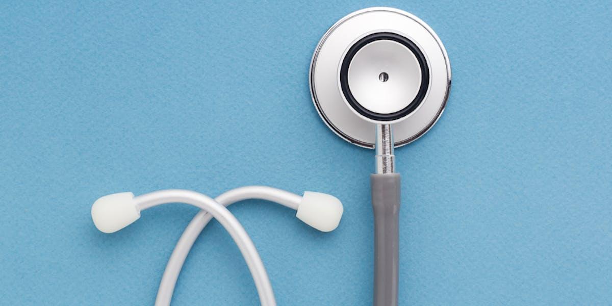High risk life insurance - Stethoscope