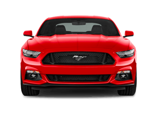Red performance car