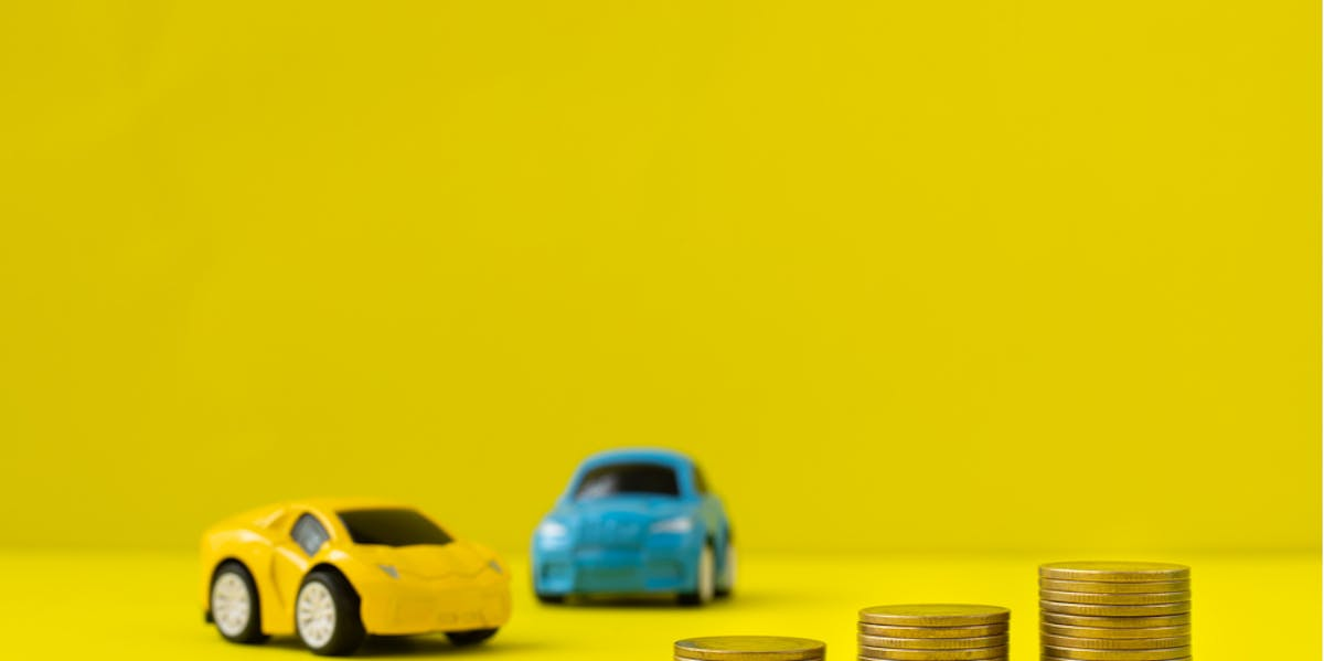 Two cars and money
