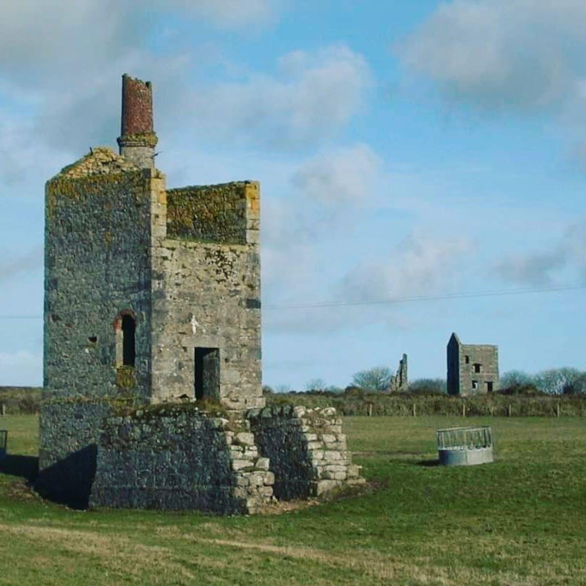 Ruins in Devon.