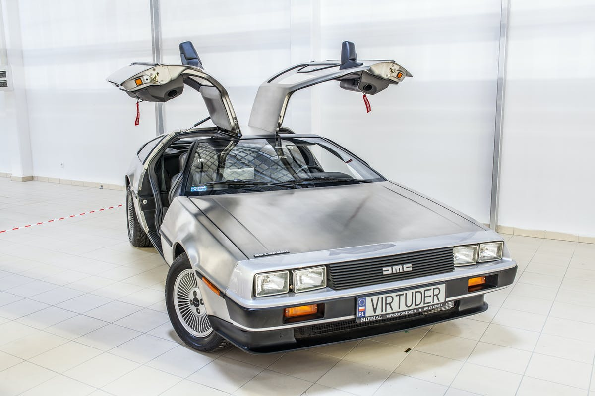 Back to the Future style DeLorean DMC-12 car - what will you be driving in the future?
