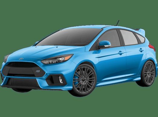 Modified blue car