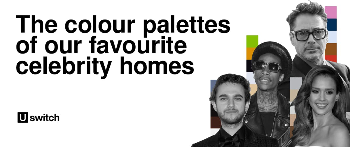 Colour palettes of our favourite celebrity homes feature
