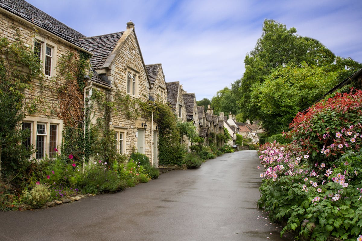 Mortgages for holiday lets. With the right mortgage you could buy a stone cottage on a pretty country road like this one. Perfect to let out to holiday makers or on AirBNB