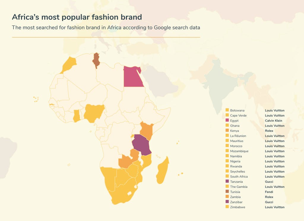 Graphic fashion searches - Africa