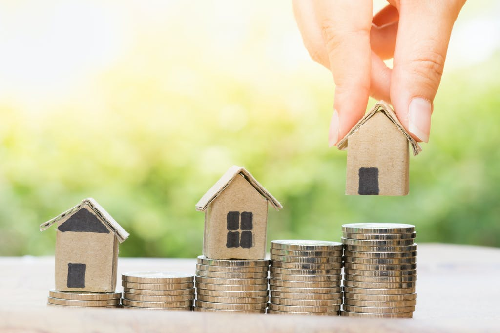 Symbolic representation growing your money through property investing.
