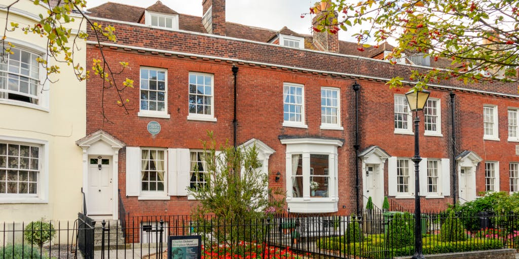 Charles Dickens Birthplace- Portsmouth