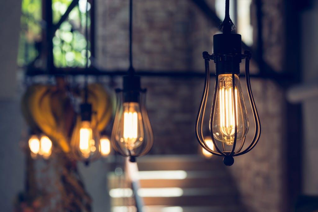 Lightbulbs using energy in home