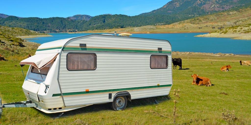 touring-caravan-in-a-field