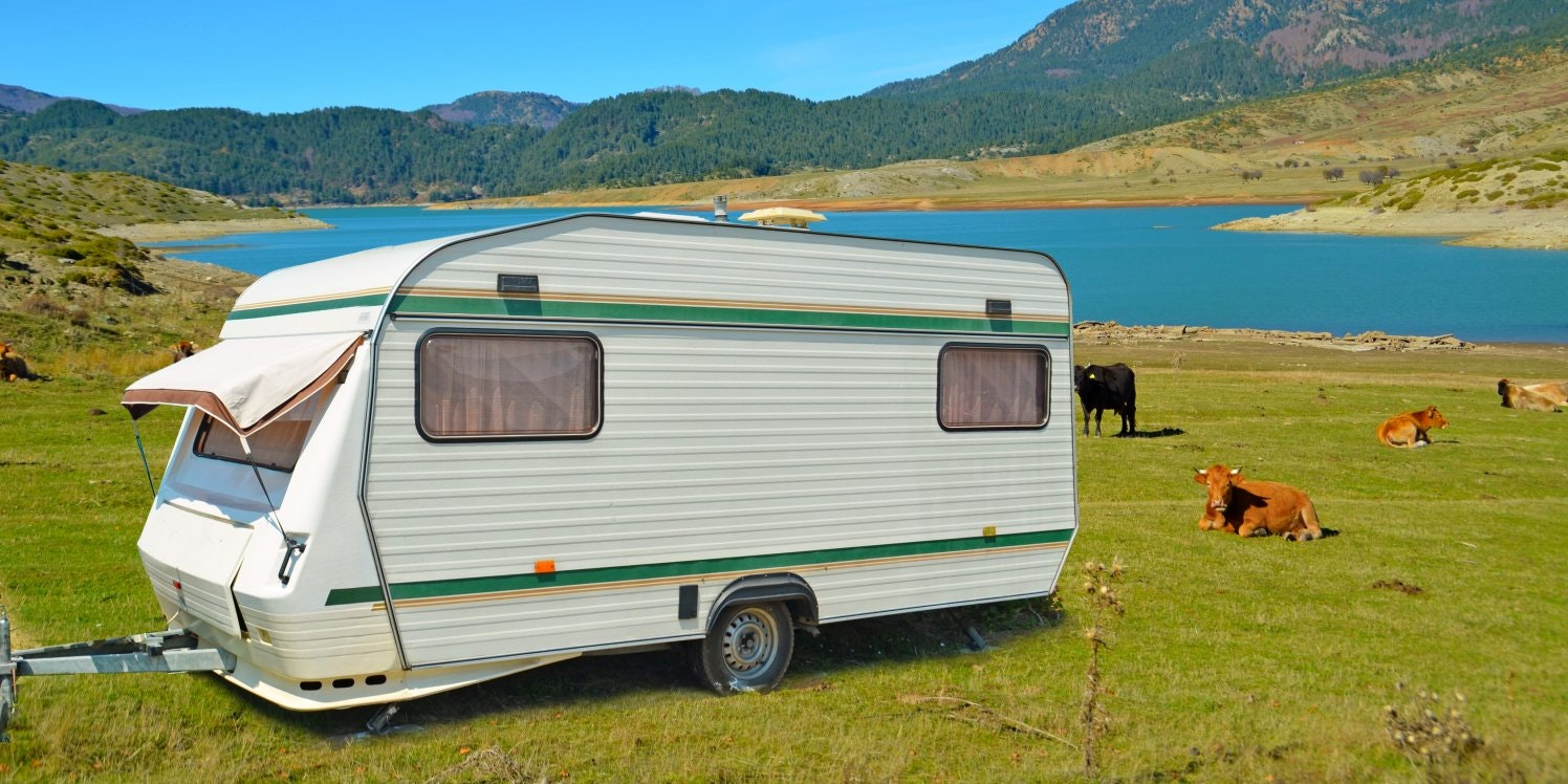 touring-caravan-in-a-field