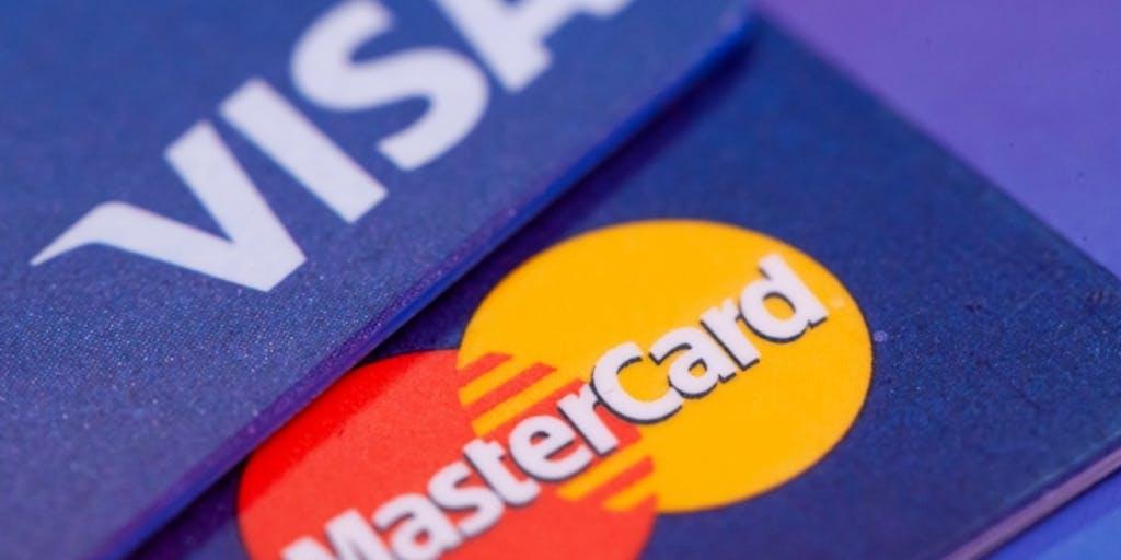 Visa and Mastercard
