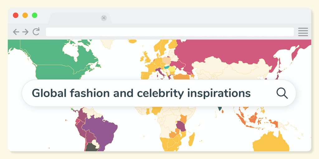 Header image graphic of Global fashion and celebrity inspirations