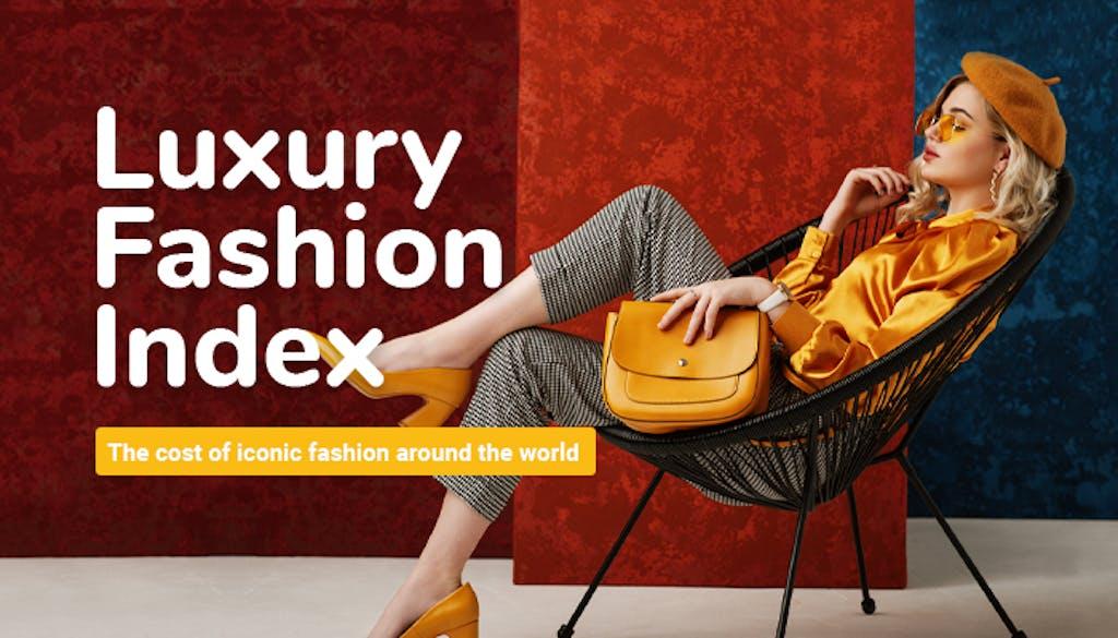Luxury Fashion Index - header image