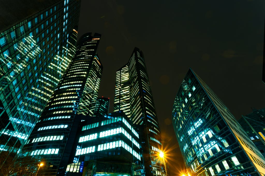 Big buildings for big energy suppliers