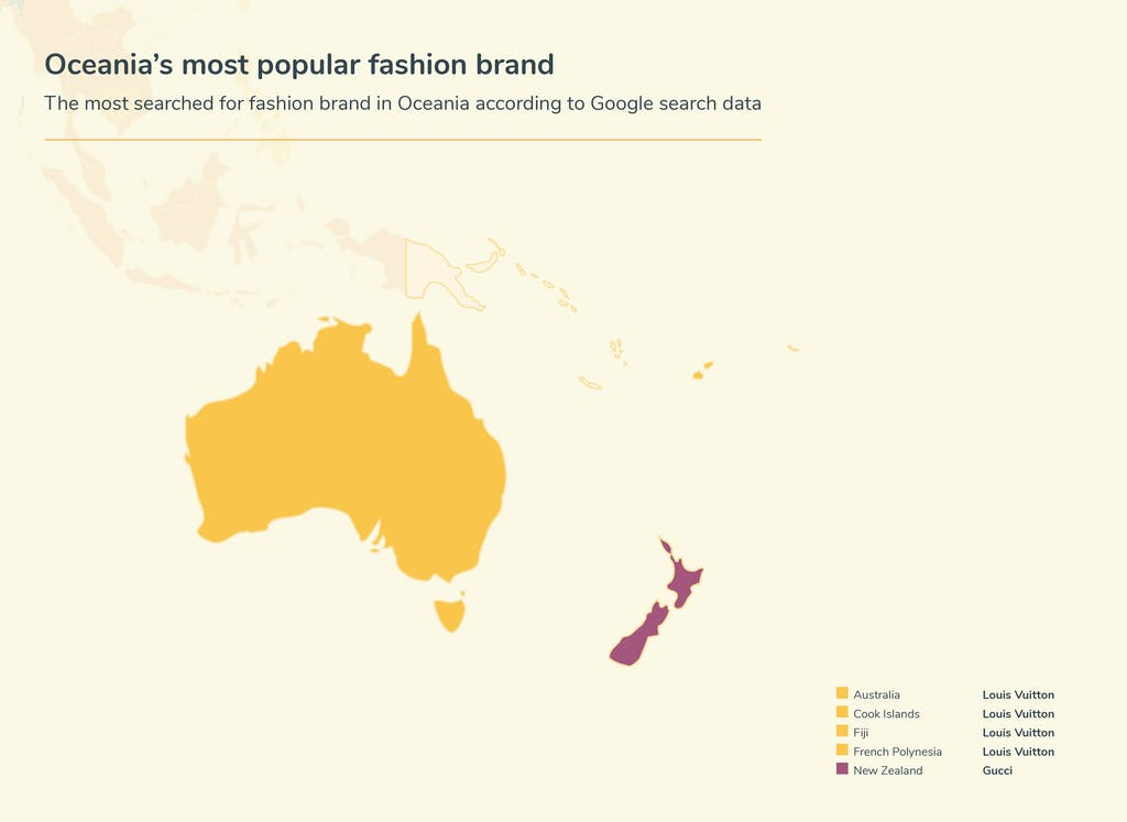 Graphic fashion searches - Oceana