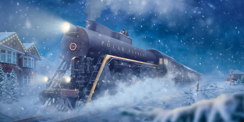 Make Believe Mortgages Header Module- The Polar Express