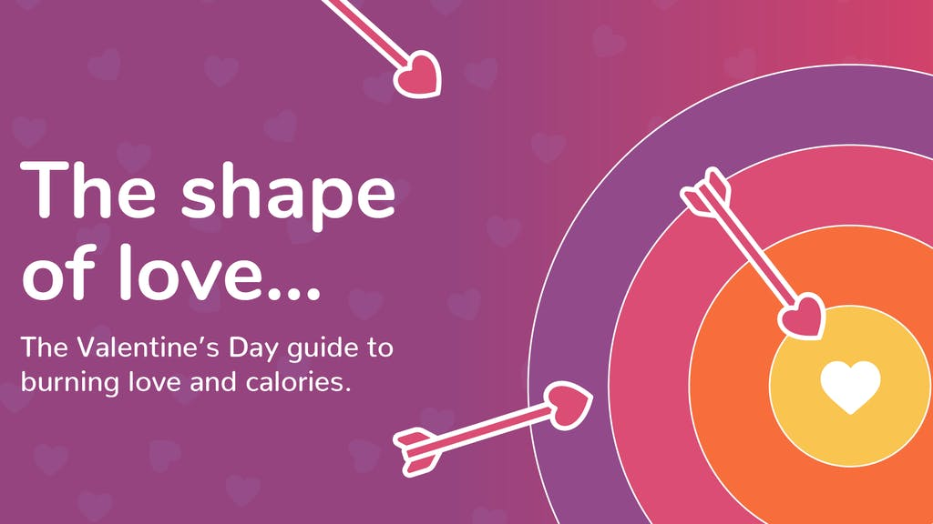 Graphic for the header of the shape of love guide