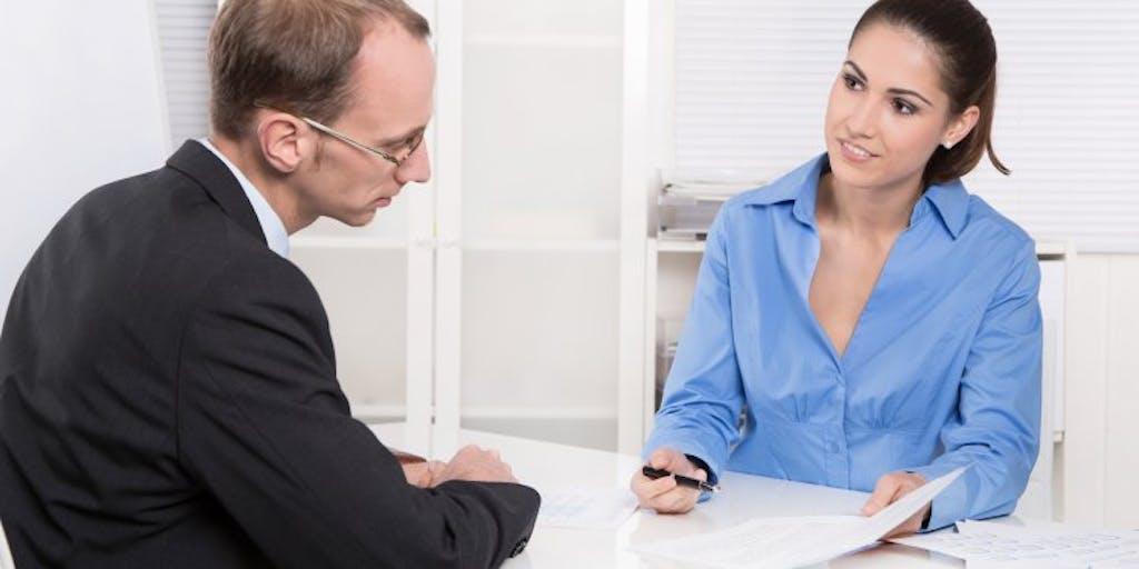 woman-explaining-information