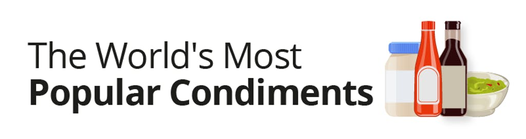 The world's most popular condiments
