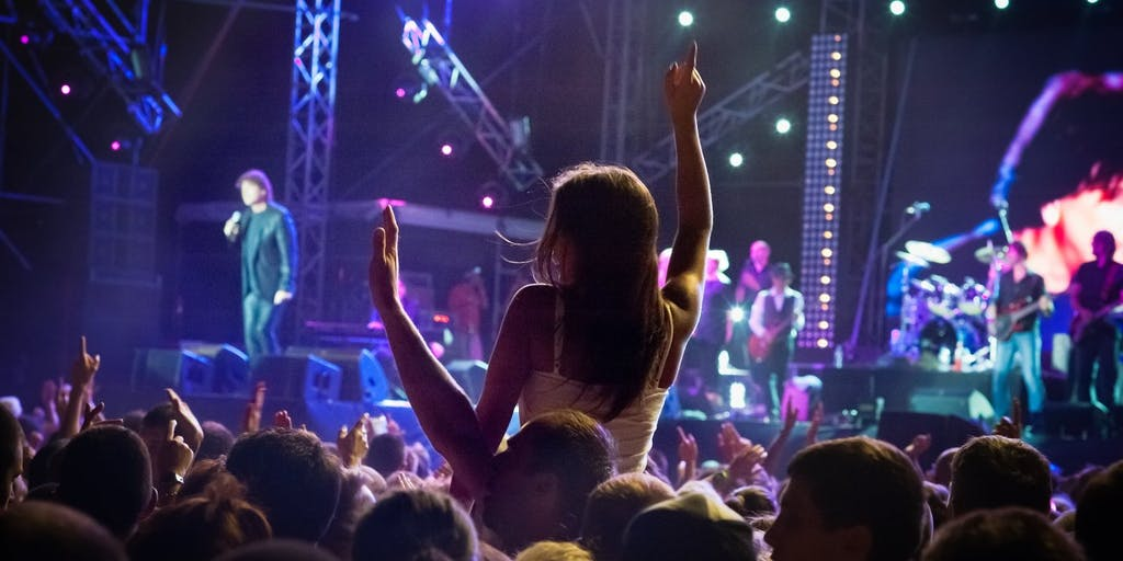 silhouettes-of-concert-crowd