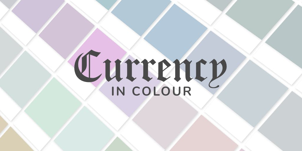 currency in colour header