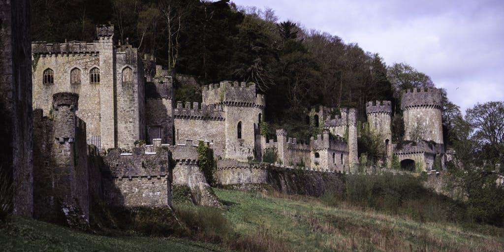Image of I'm a Celeb, Gwrych Castle.