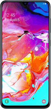 Samsung Galaxy A70 handset