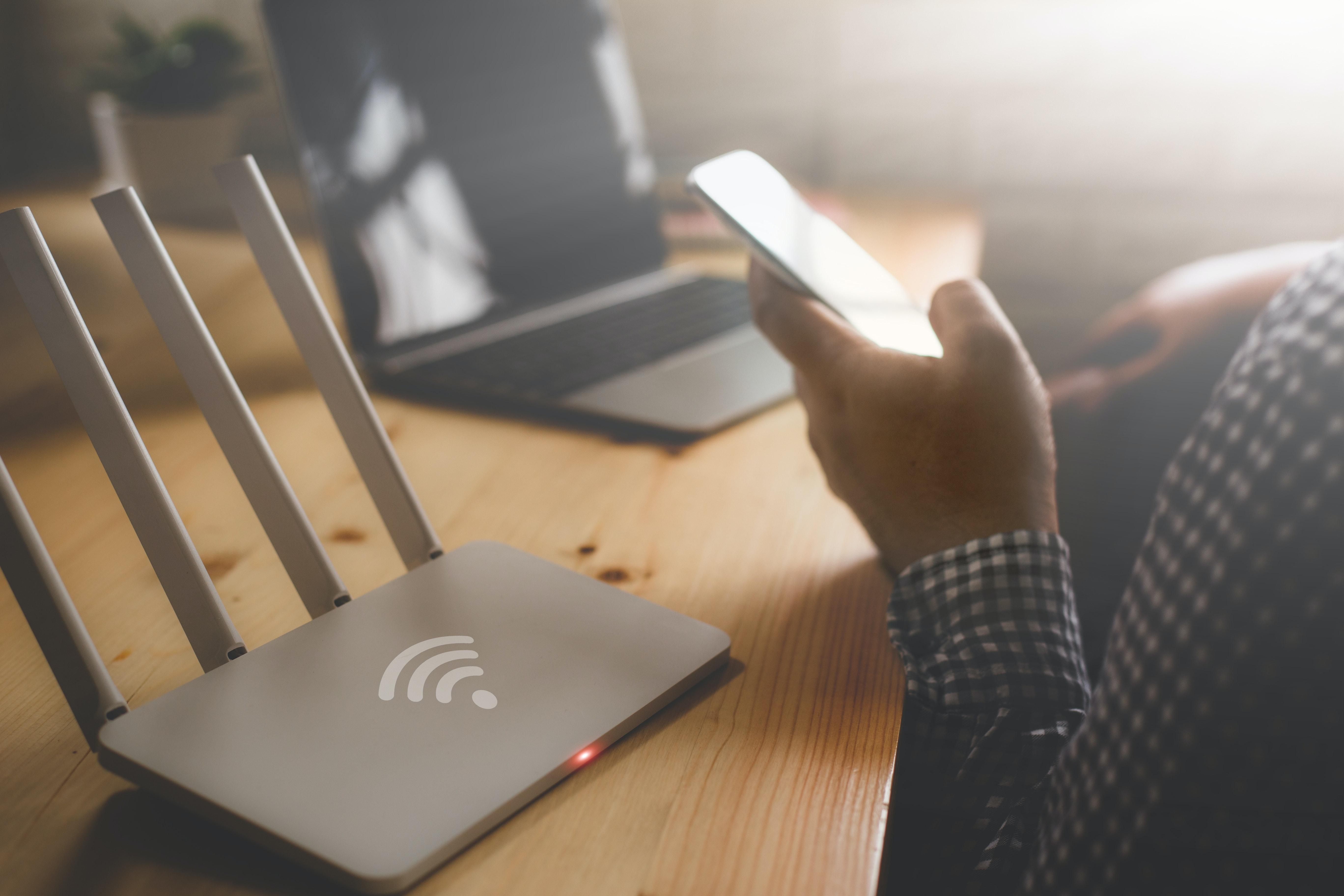 Superfast broadband router