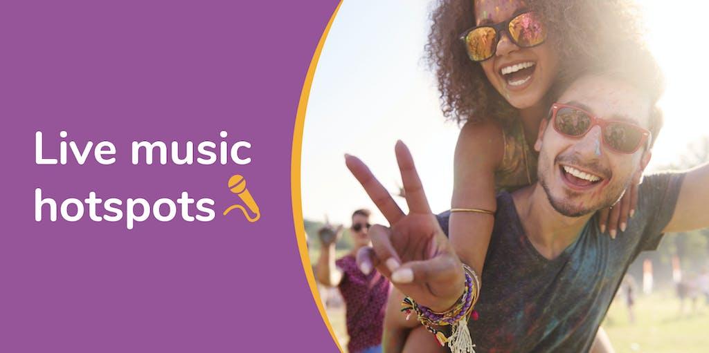Live music hotspots header image